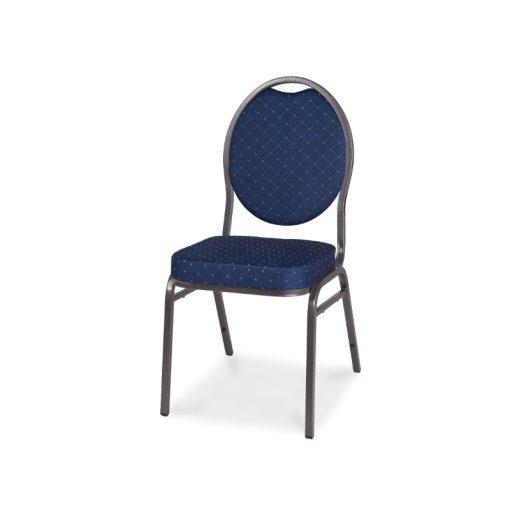 Herman Antracit szürke-Kék Konferenciaszék