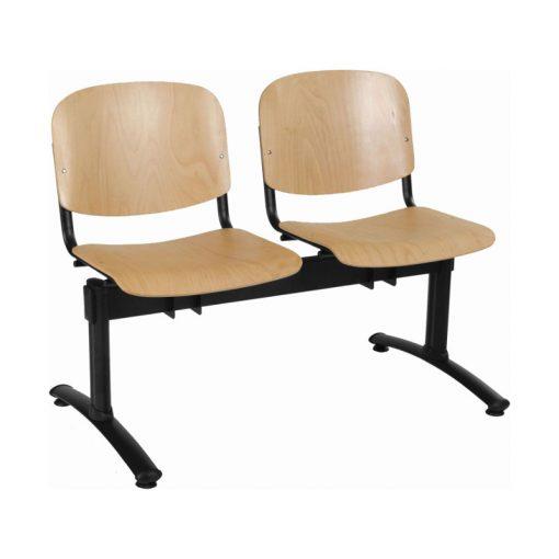 1122 LN ügyfélváró pad két ülőhellyel