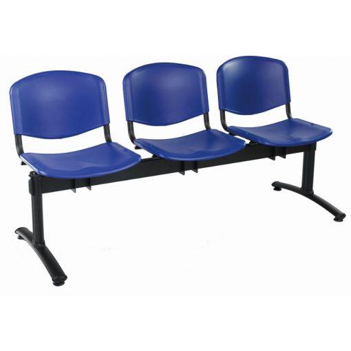 1123 PN ügyfélváró pad három ülőhellyel