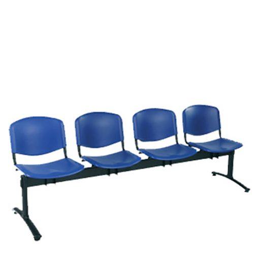 1124 PN ügyfélváró pad négy ülőhellyel