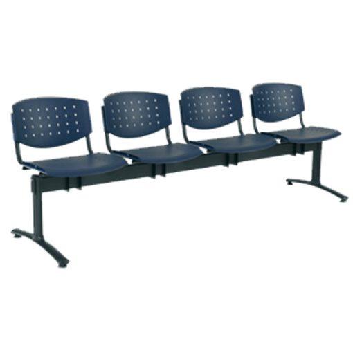 1124 PN Layer ügyfélváró pad négy ülőhellyel