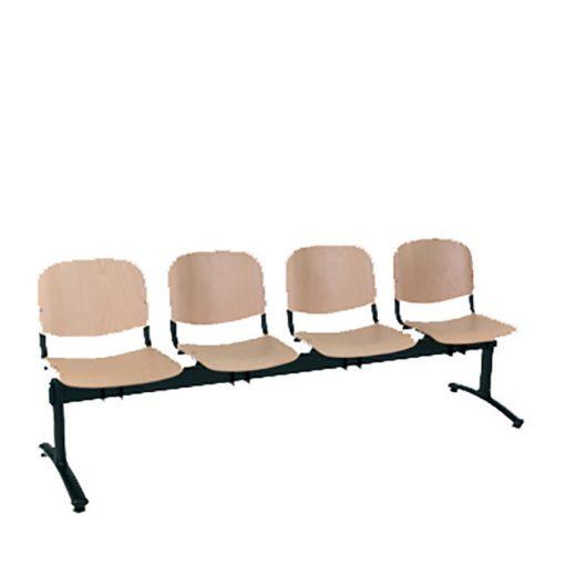 1124 LN ügyfélváró pad négy ülőhellyel