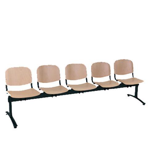 1125 LN ügyfélváró pad öt ülőhellyel