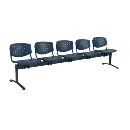 1125 PN Layer ügyfélváró pad öt ülőhellyel