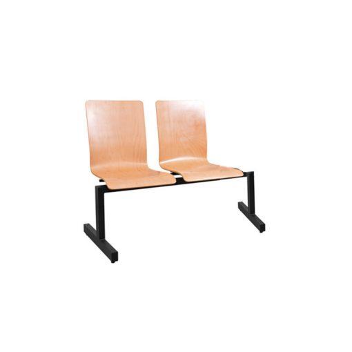 1322 LN ügyfélváró pad két ülőhellyel