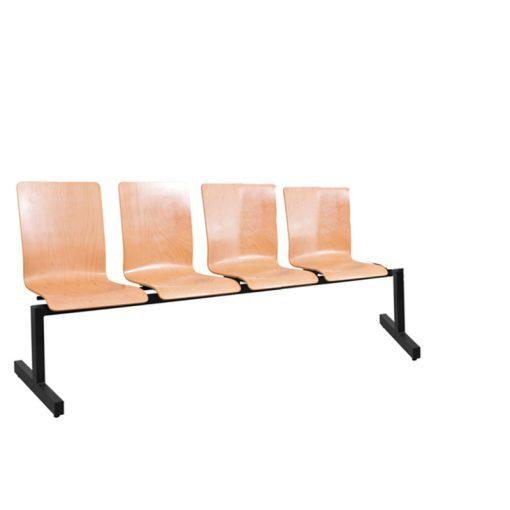 1324 LN ügyfélváró pad négy ülőhellyel