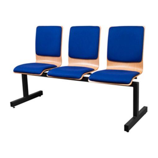 1323 TLN ügyfélváró pad három ülőhellyel