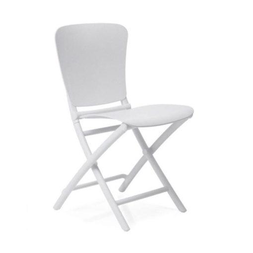 Nardi Zac Classic fehér összecsukható szék