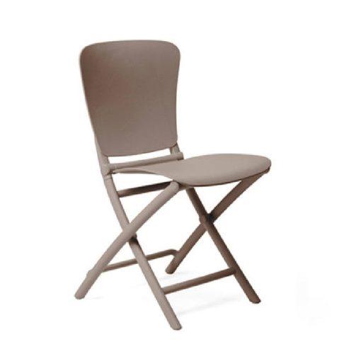 Nardi Zac Classic galamb szürke összecsukható szék