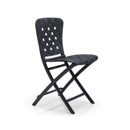 Nardi Zac spring antracit szürke összecsukható szék