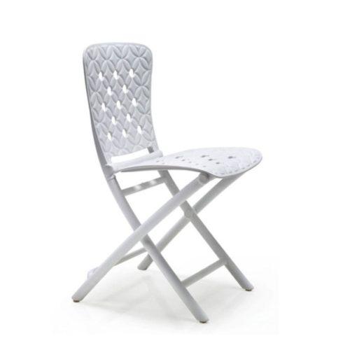 Nardi Zac spring fehér összecsukható szék