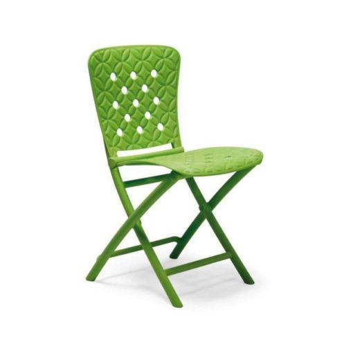 Nardi Zac Spring lime zöld összecsukható szék
