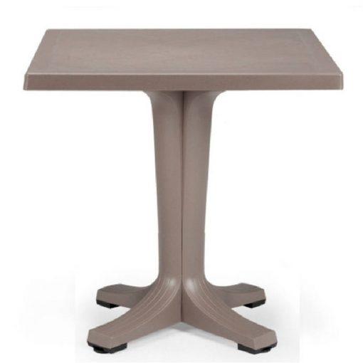 Nardi Giove 70 cm kerti asztal galamb szürke színben