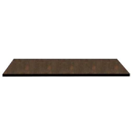 Nardi HPL 80x80 cm corten barna kültéri asztallap