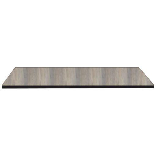 Nardi HPL 70x70 cm legno szürke fa mintázatú kültéri asztallap
