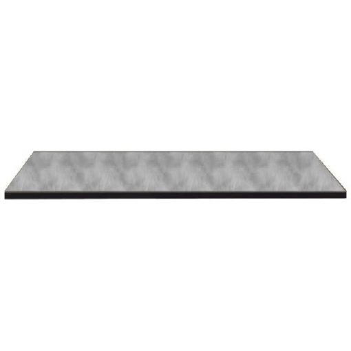 Nardi HPL 80x80 cm cement szürke kültéri asztallap