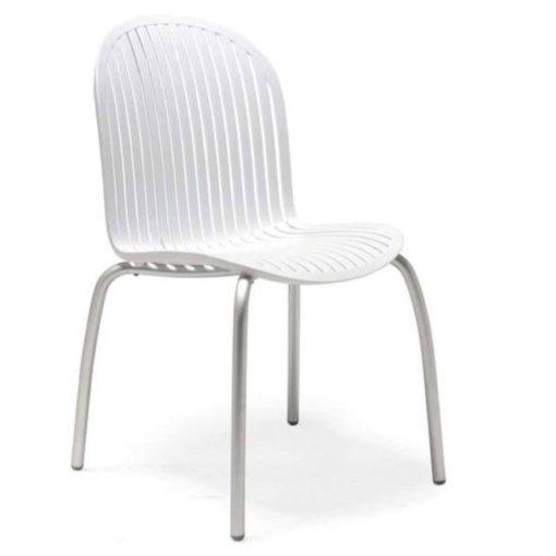 Nardi Ninfea dinner fehér kültéri szék