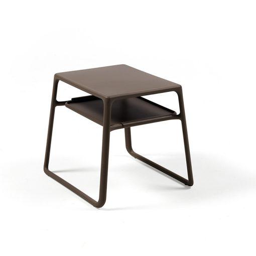 Nardi Pop kávé barna kerti asztal
