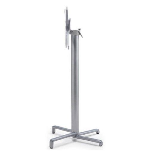 Nardi Scudo High ezüst-szürke kültéri asztalláb - bázis