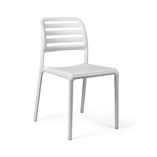 Nardi Costa Bistrot fehér kültéri szék