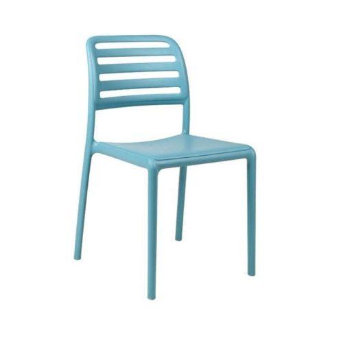 Nardi Costa Bistrot égszínkék kültéri szék