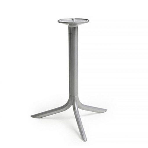 Nardi Break ezüstszürke kültéri asztalláb - bázis