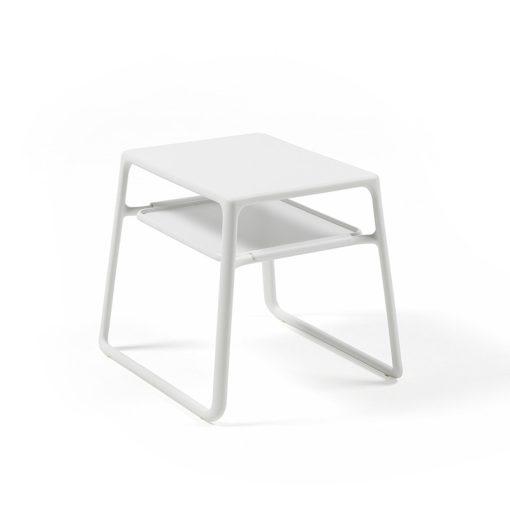 Nardi Pop fehér kerti asztal