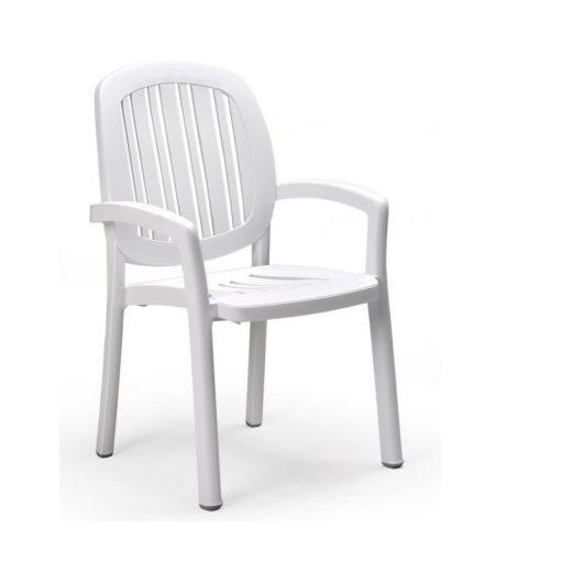 Nardi Ponza karosszék fehér színben