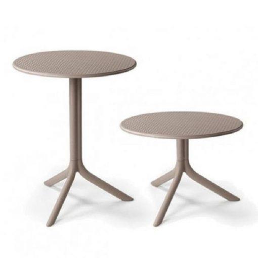 Nardi Step vagy Step mini galamb-szürke kerti asztal