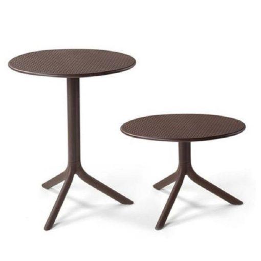 Nardi Step vagy Step mini kávé-barna kerti asztal