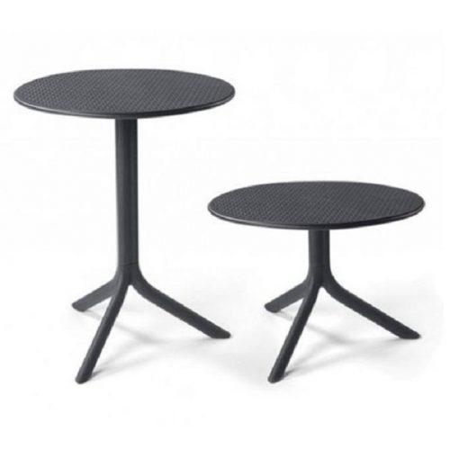 Nardi Step vagy Step mini antracit-szürke kerti asztal