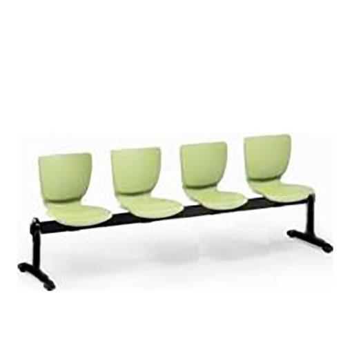 Mono 104 PN ügyfélváró pad négy ülőhellyel