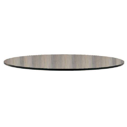 Nardi HPL kör 80 cm legno szürke fa mintázatú kültéri asztallap