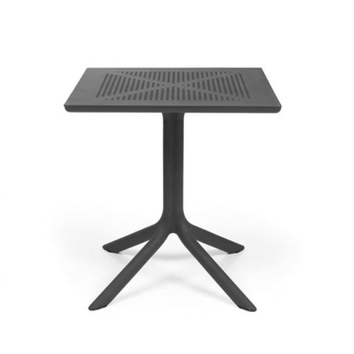 Nardi Clip 70 antracit szürke kerti asztal