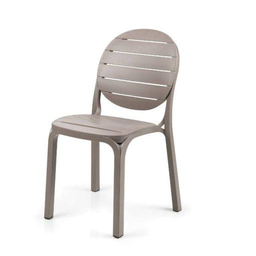 Nardi Erica galambszürke kültéri szék
