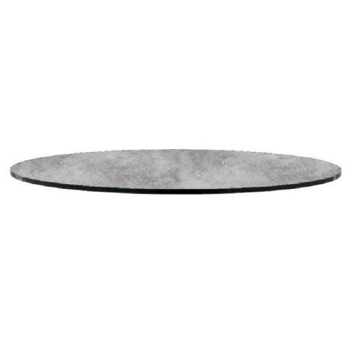 Nardi HPL kör 70 cm beton szürke kültéri asztallap