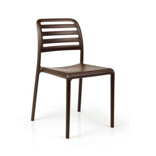 Nardi Costa Bistrot kávébarna kültéri szék